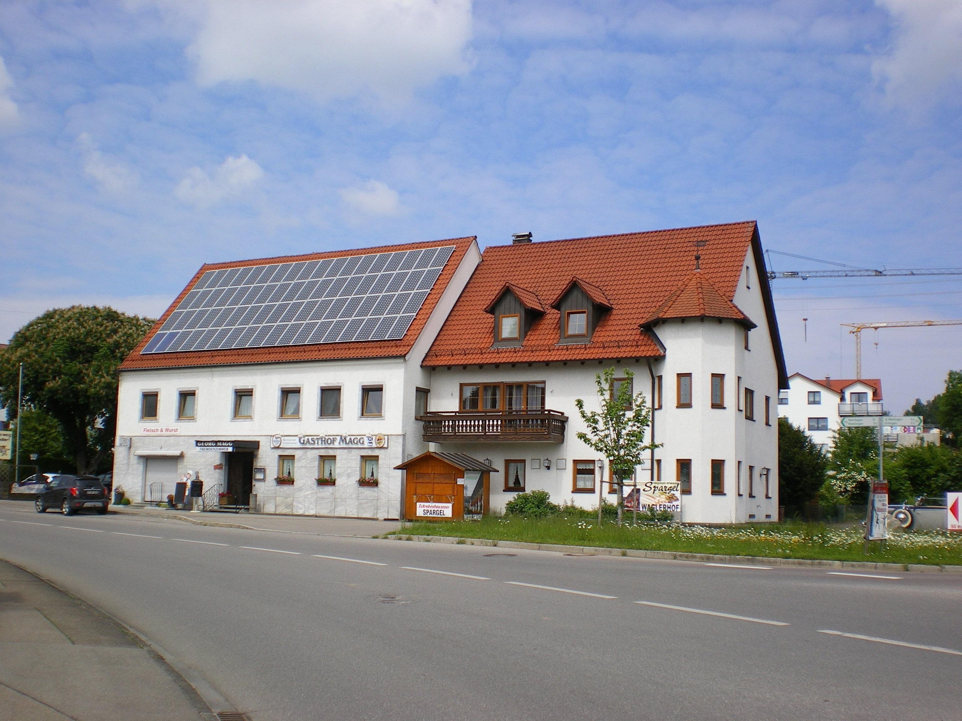 Gasthof Magg Biberbach - Gut bürgerliche Küche und Fremdenzimmer